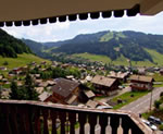 View from balcony in Morzine