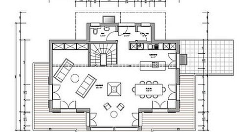 Plans of chalet
