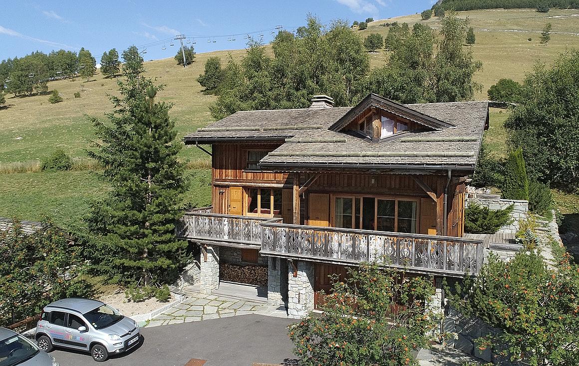 The chalet for sale in Les Deux Alpes