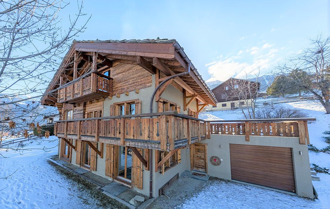 The chalet in Nendaz for sale