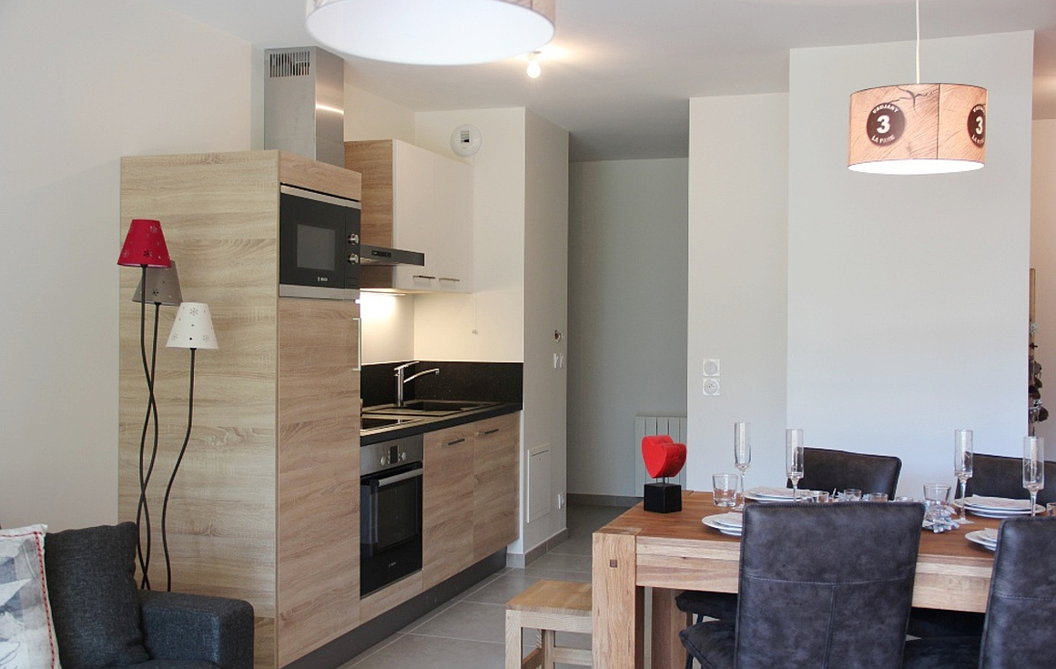 Example of finished apartment in the building