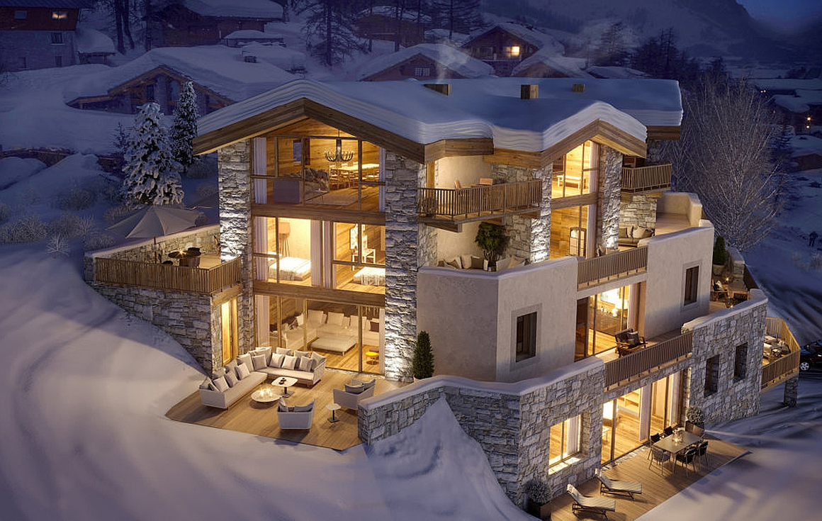 The Val d'Isere apartments for sale