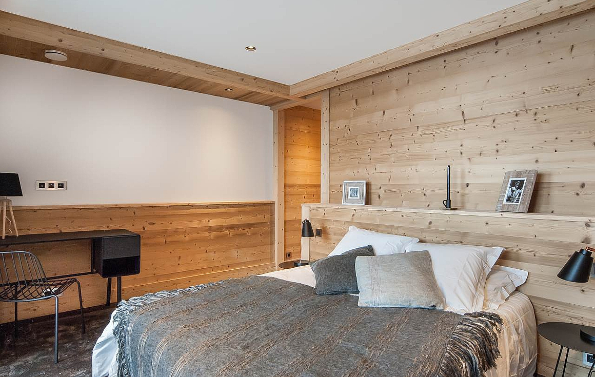 The gorgeous bedrooms