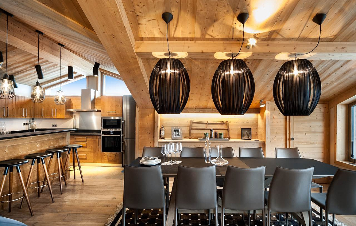 The ski chalet for sale