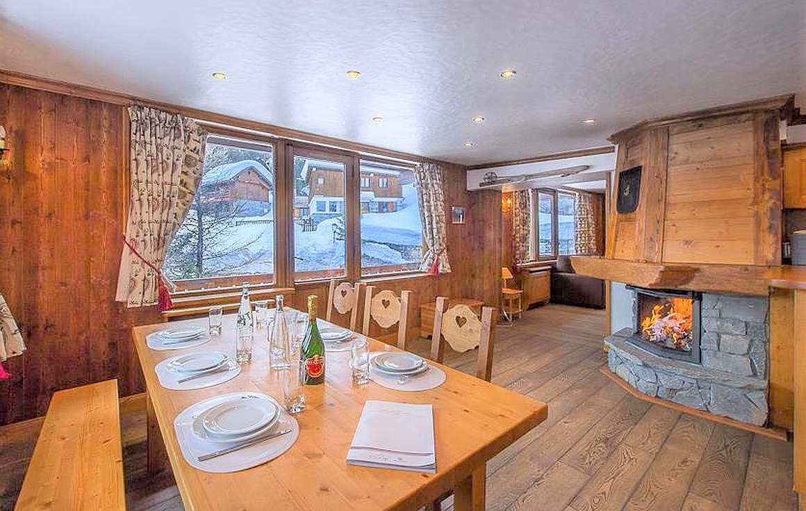 The apartment for sale in Courchevel