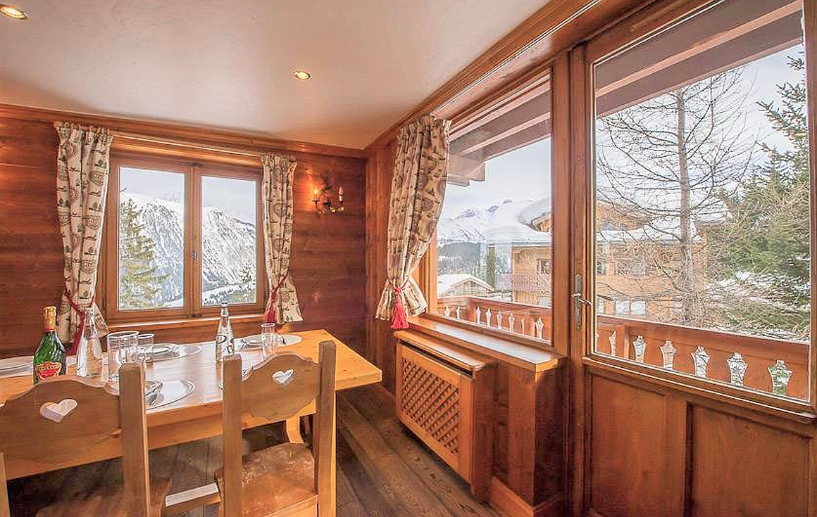 The 3 bedroom Courchevel apartment