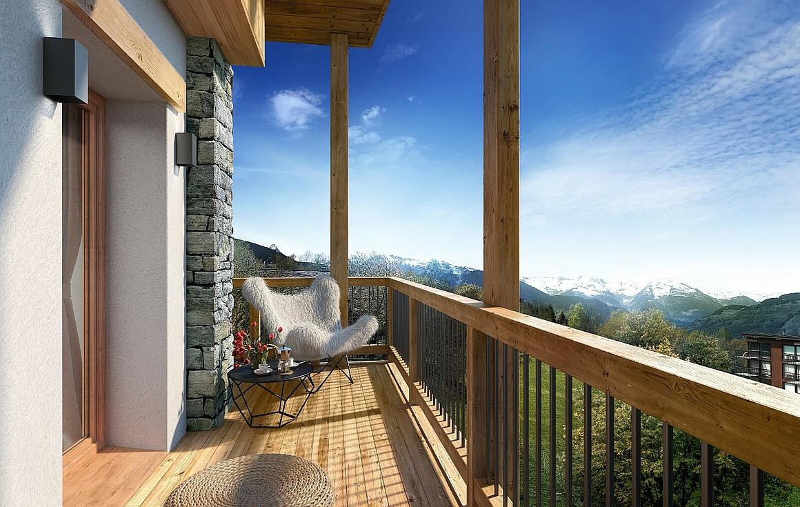 Wonderful spacious terraces