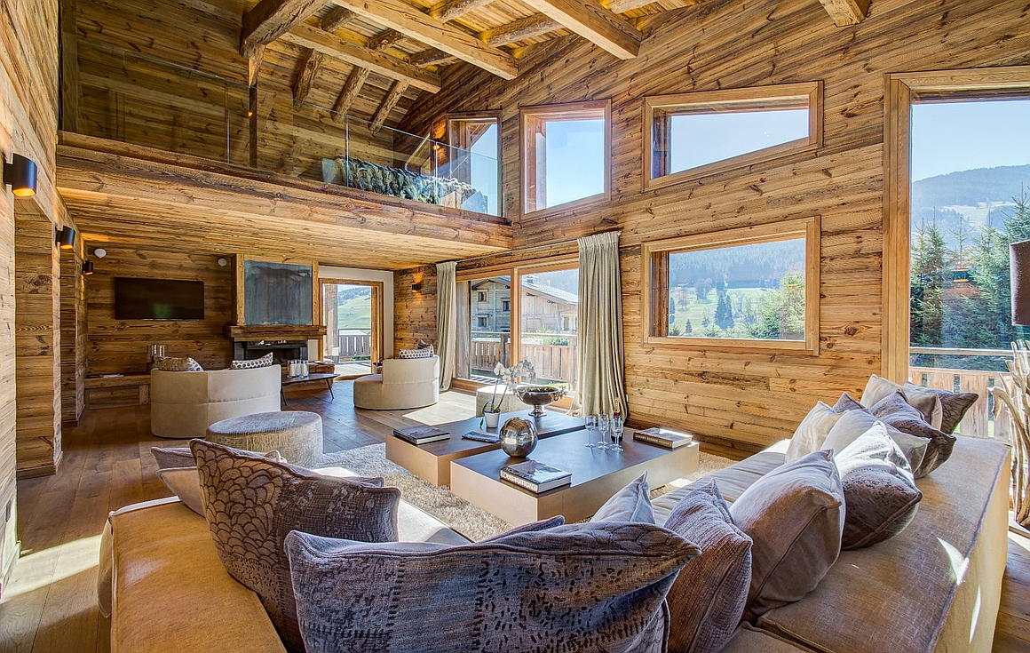 The chalet for sale in Megeve