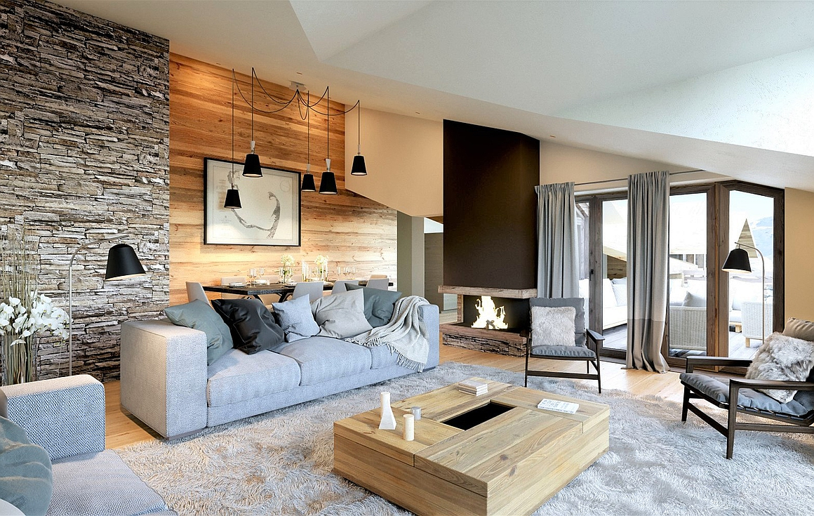 The chalet for sale in Courchevel