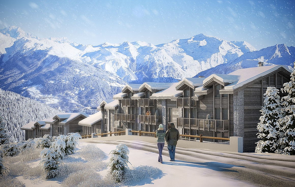 Brand new chalets for sale in Courchevel