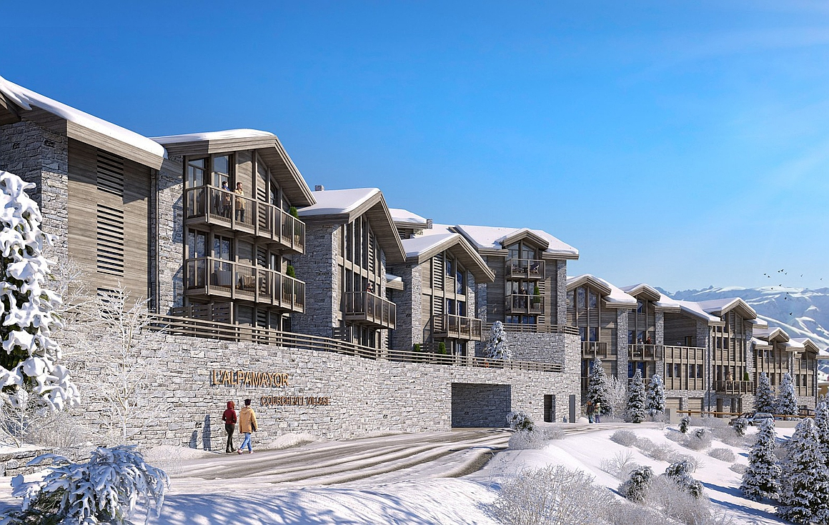 The Courchevel properties