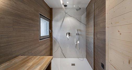 Modern shower rooms