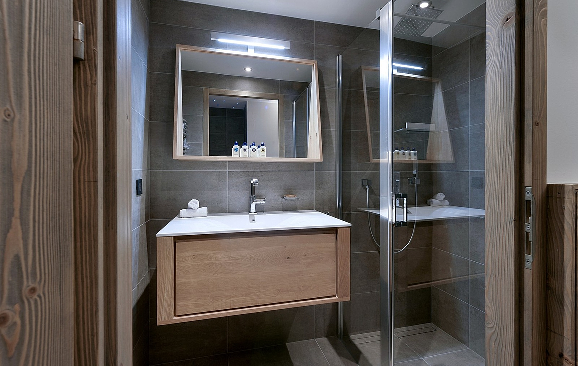 Example of previously built bathroom