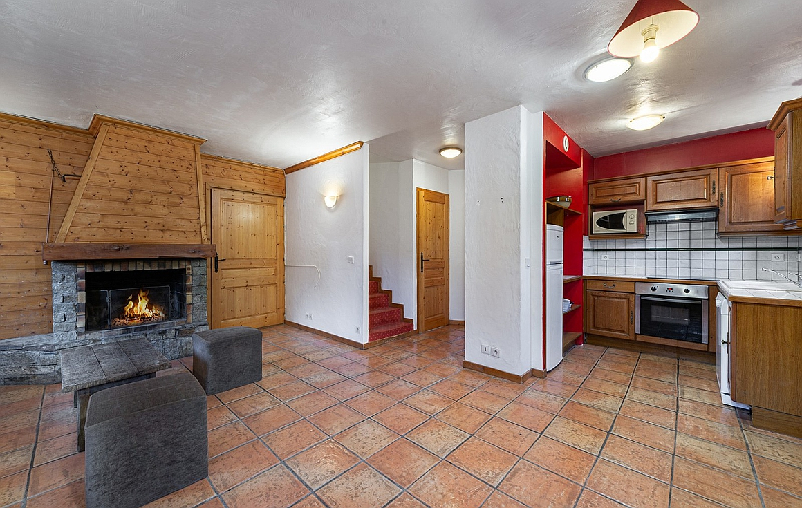 The chalet for sale in La Tania