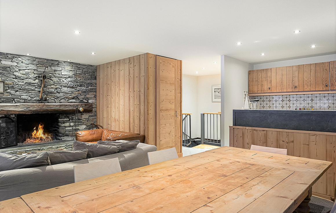 Interior of apartment