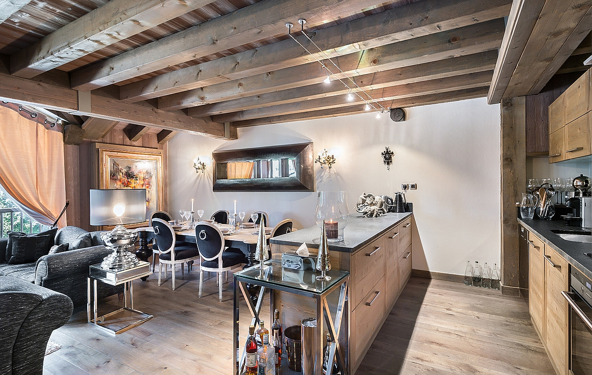 The amazing apartment for sale in Courchevel