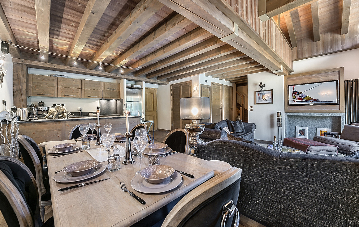 The Courchevel 1850 apartment for sale