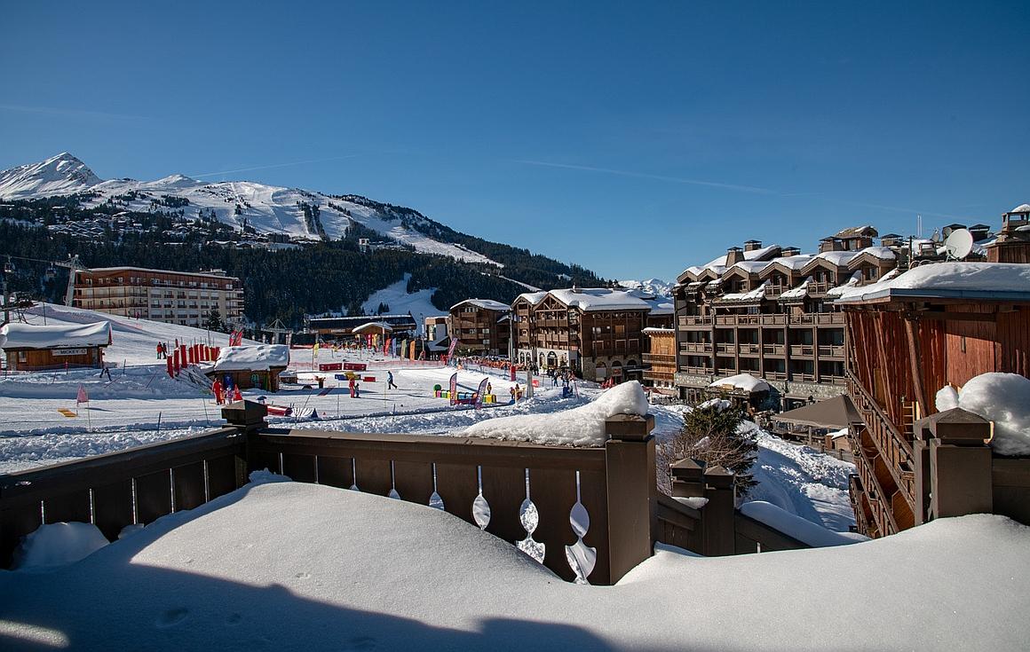 The ski apartments