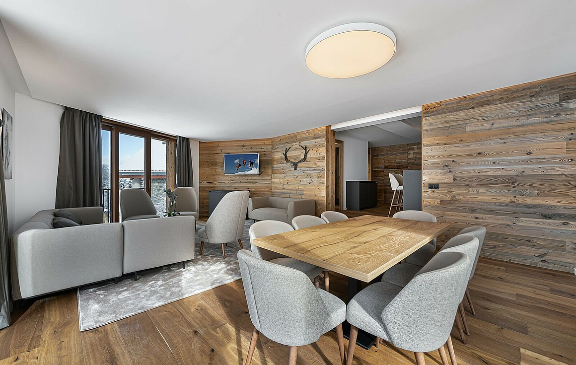 Courchevel finished apartments for sale