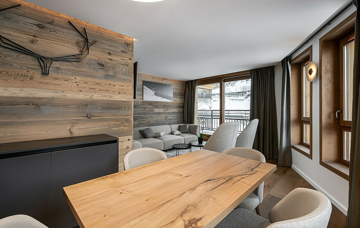 Furnished Courchevel apartments for sale