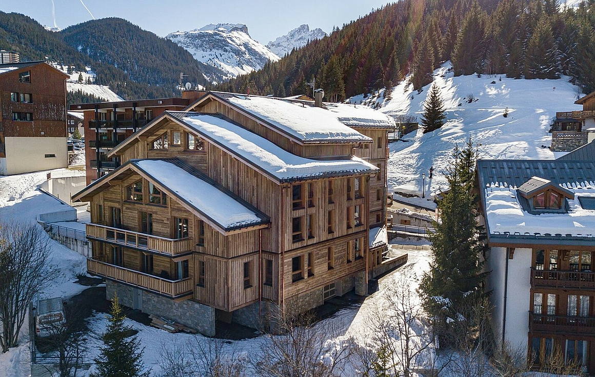 The Courchevel apartments
