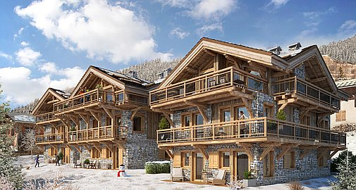 St Martin de Belleville chalets for sale