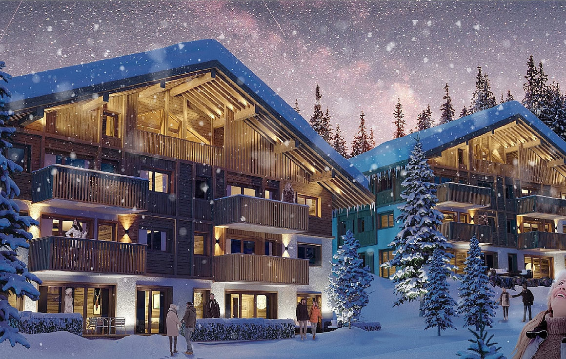 Apartments for sale in Megeve