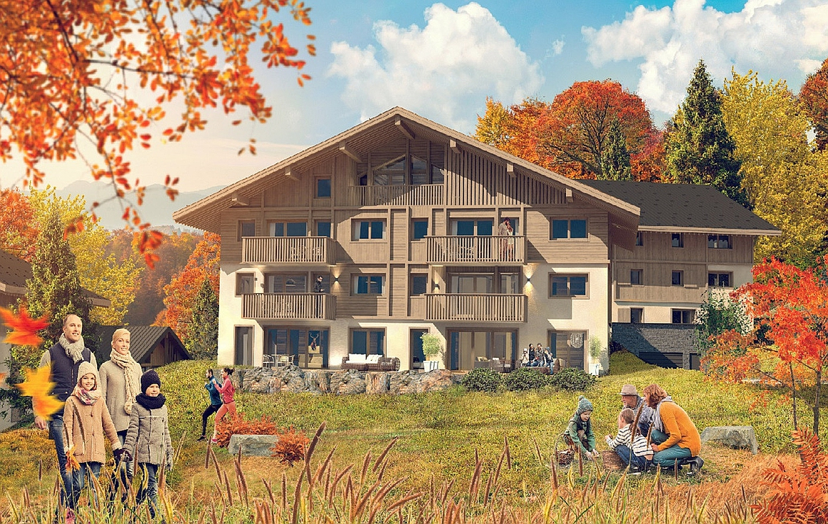 The Megeve apartments for sale