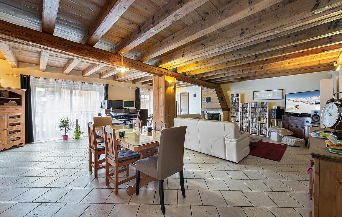 The residence for sale in Meribel