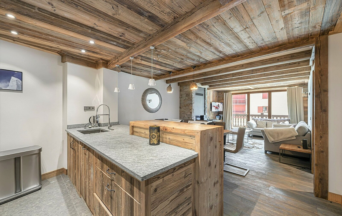The Val d'Isere apartment for sale