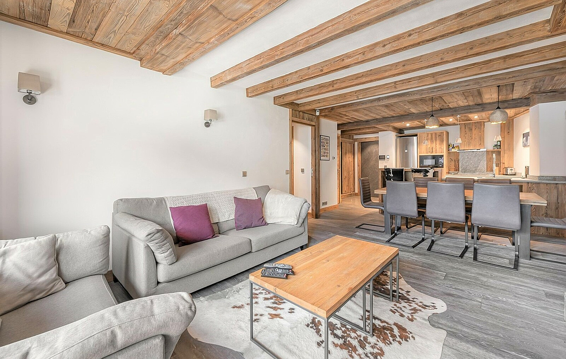 The apartment for sale in Val d'Isere