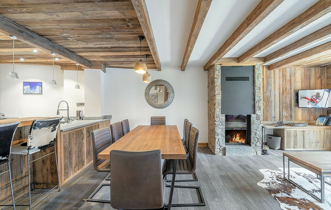 The ski apartment for sale in Val d'Isere