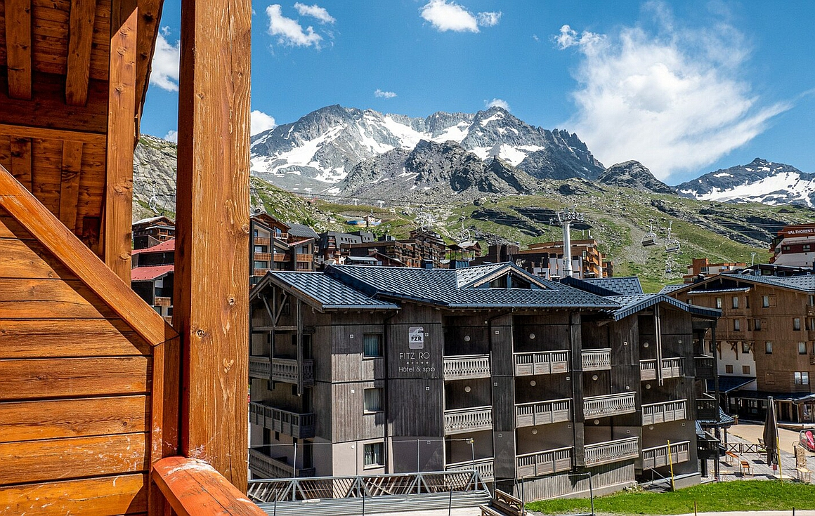 The views of Val Thorens