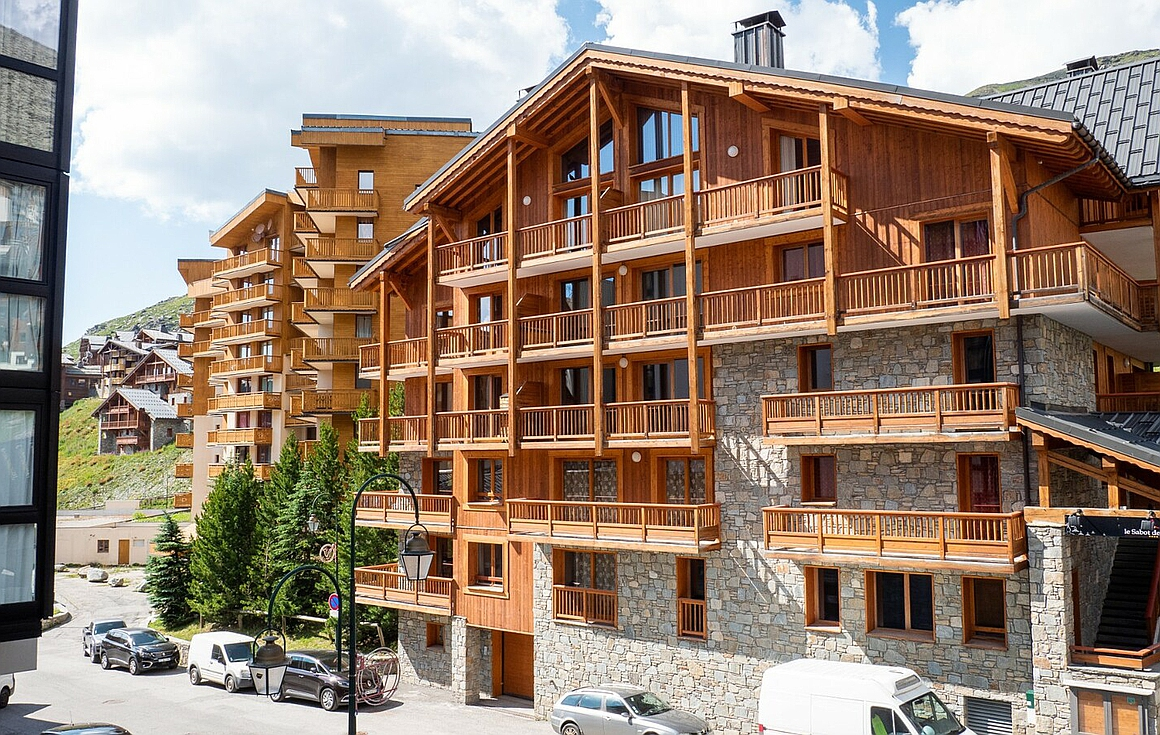 The residence in Val Thorens