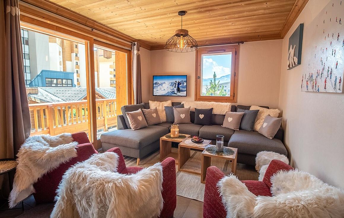 The Val Thorens apartment
