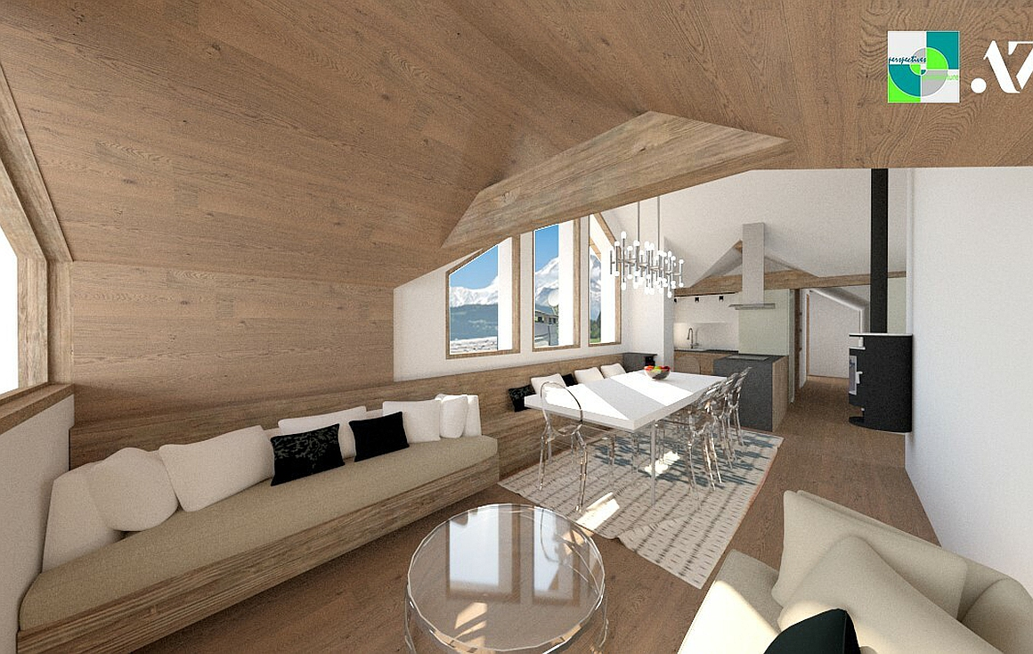 The penthouse apartment