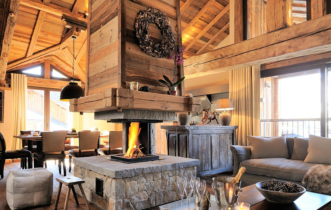 The luxury chalet for sale