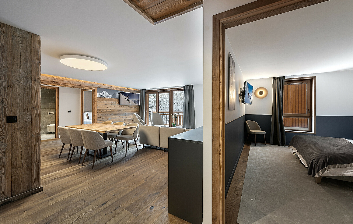 The new apartments for sale in Courchevel