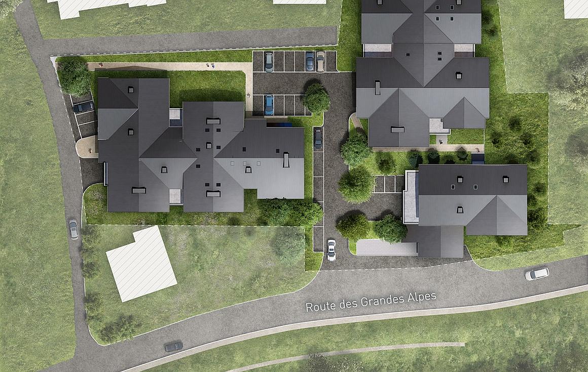 The Plan Masse Residence