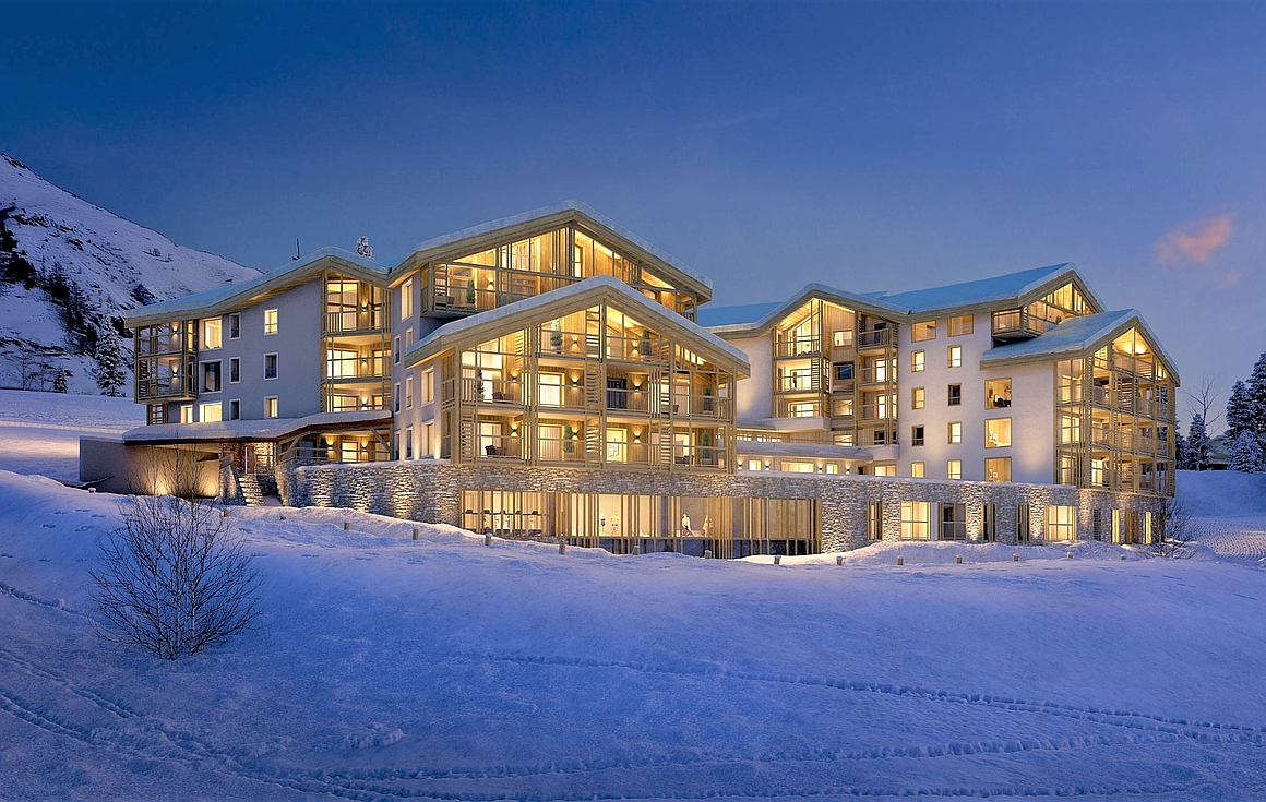 Ski in and out Alpe d'Huez apartments for sale