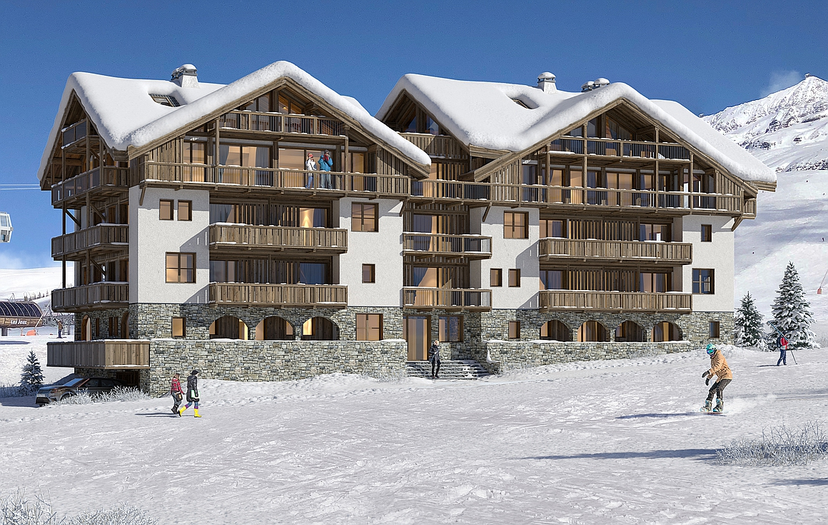 Ski apartments for sale in Alpe d'Huez