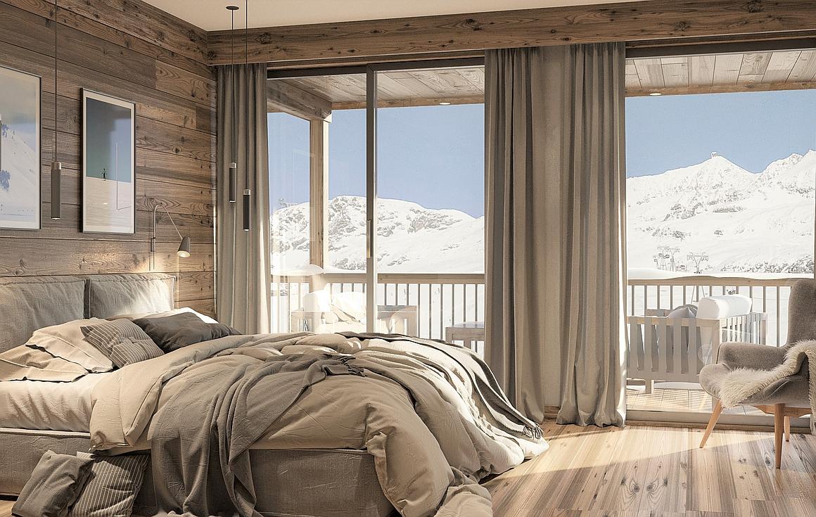 Interiors of properties for sale Alpe d'Huez