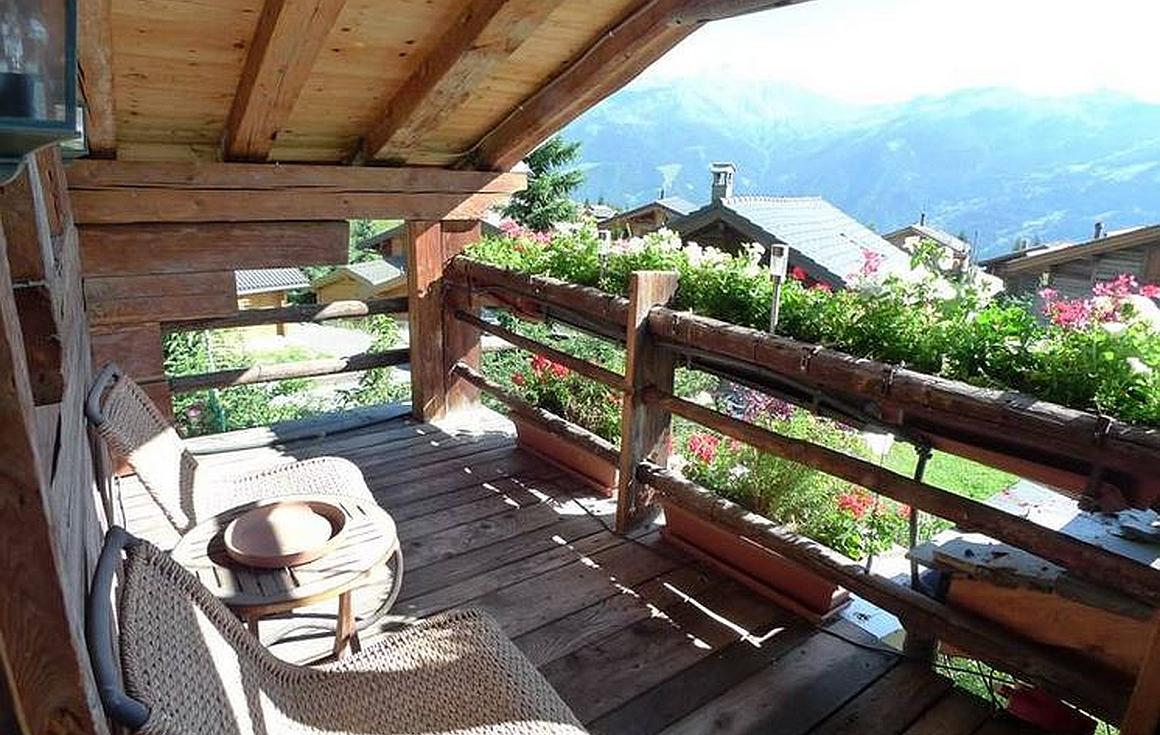 Attic Balcony