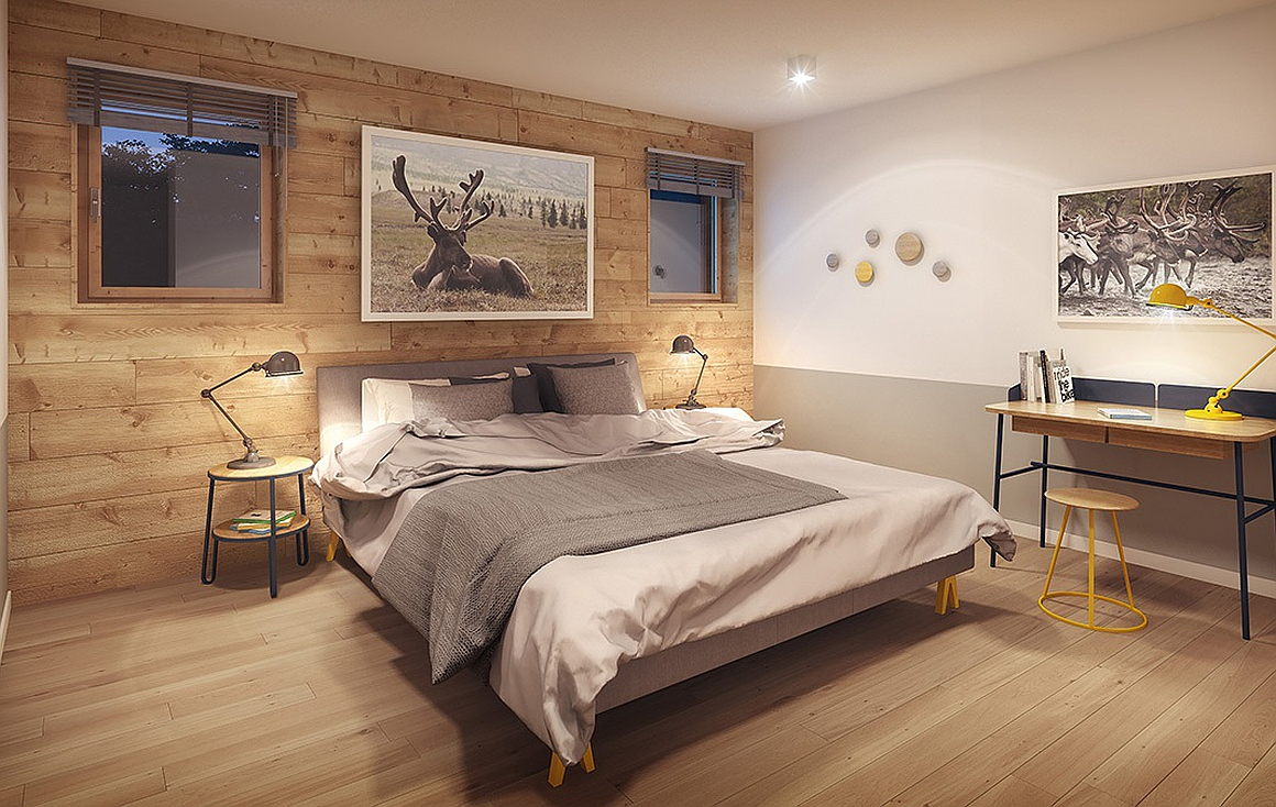 Bedroom - Nordic Finish