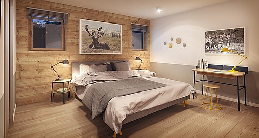 Bedroom - Nordic Finish