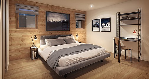 Bedroom - Modern Finish