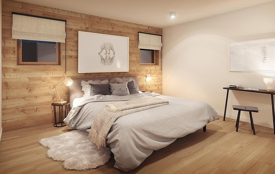 Bedroom - Montagnard Finish