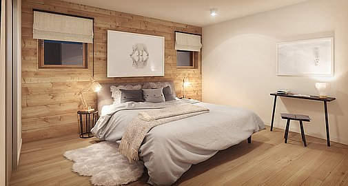 Bedroom - Montagnard Finish