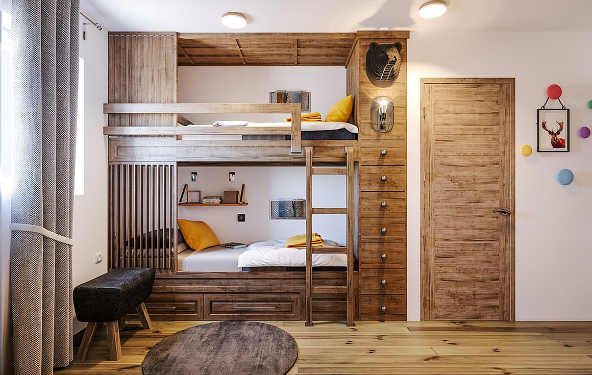 The bedrooms of the new development