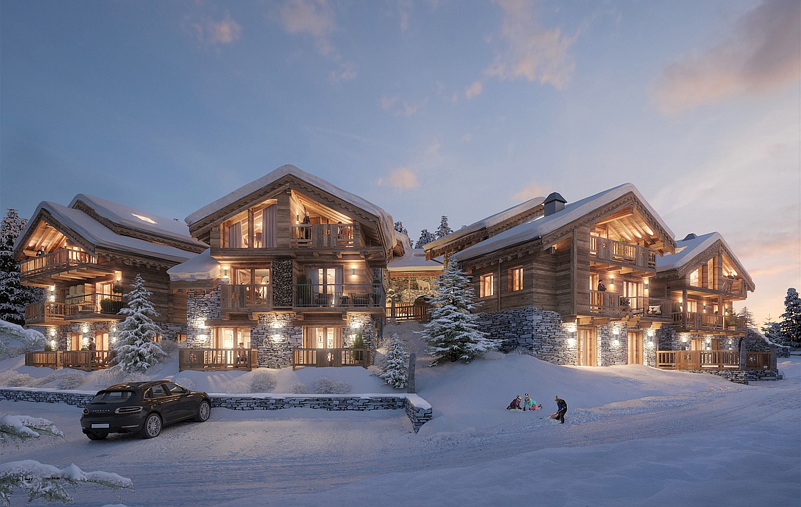 The Meribel chalets for sale